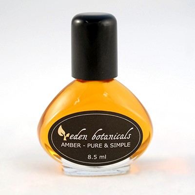 Amber - Pure & Simple, 8.5 ml Perfume Bottle